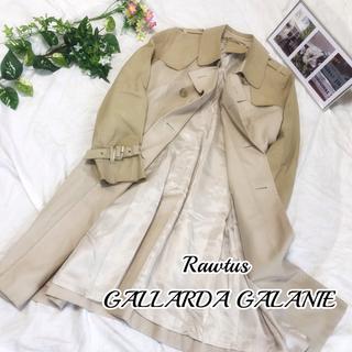 ガリャルダガランテ(GALLARDA GALANTE)のRawtus GALLARDA GALANIE トレンチコート レザー 38(トレンチコート)