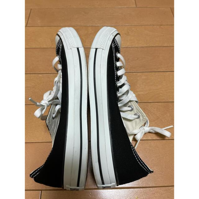 CONVERSE(コンバース)のコンバース キャンバス オールスター 黒 27cm converse メンズの靴/シューズ(スニーカー)の商品写真