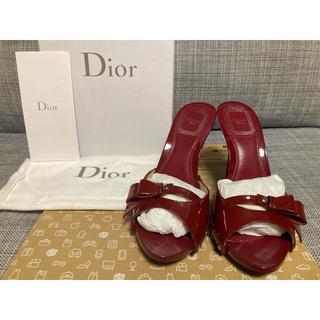 クリスチャンディオール(Christian Dior)のディオール ミュール 23.5(ミュール)