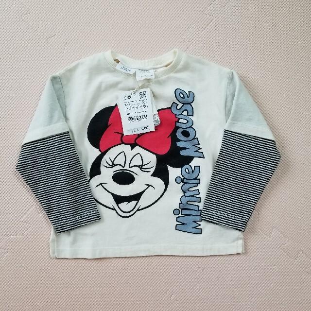 ZARA(ザラ)のzara 長袖Tシャツ 9-12m 新品未使用 キッズ/ベビー/マタニティのベビー服(~85cm)(Tシャツ)の商品写真