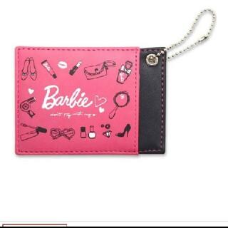 バービー(Barbie)のバービー パスケース 新品未開封 タグつき(名刺入れ/定期入れ)