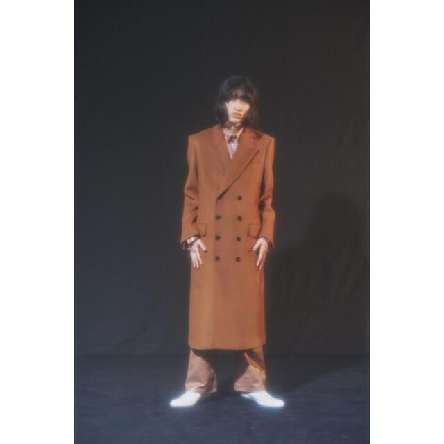 JOHN LAWRENCE SULLIVAN(ジョンローレンスサリバン)のLITTLE BIG 20aw ダブルチェスターコート メンズのジャケット/アウター(チェスターコート)の商品写真