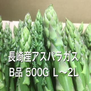 長崎産アスパラガス B品 太め 500G(野菜)