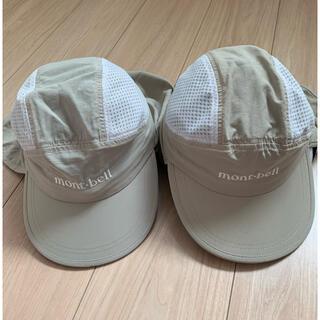 モンベル(mont bell)のsakitabei様専用です。★サハラキャップ2点★キッズフリーサイズ(帽子)