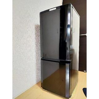 ミツビシデンキ(三菱電機)の三菱 冷蔵庫 MR-P15Y-B 2015年製[5月29日出品終了](冷蔵庫)