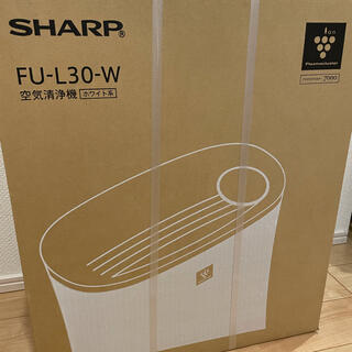 SHARP - SHARP 空気清浄機 FU-L30-W