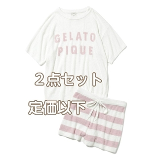 gelato pique - 新品 ジェラートピケ スムーズィーロゴジャガードプルオーバー&ショートパンツ