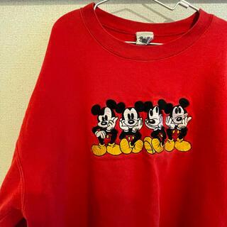 ディズニー(Disney)のミッキー 90年代ヴィンテージスウェット the disney catalog(トレーナー/スウェット)