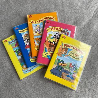 ディズニー(Disney)のワールドファミリー 英語教材DVD 5枚セット(キッズ/ファミリー)