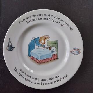 ウエッジウッド、ピーターラビットお皿(プレート/茶碗)
