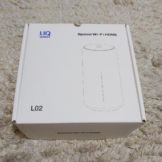 ファーウェイ(HUAWEI)のUQwimax Speed WIFI HOME L02(PC周辺機器)