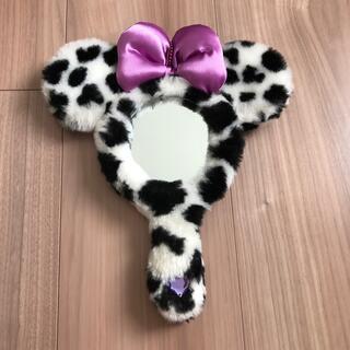 ディズニー(Disney)のミッキー 牛柄ミラー(ミラー)