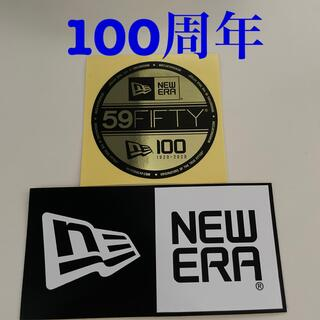 NEW ERA - ニューエラ/NEW ERA ステッカー シール 2枚セット 100周年記念