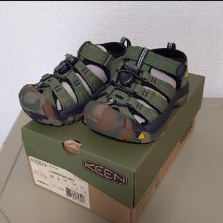 キーン(KEEN)の新品未使用品 KEEN キーン サンダル 15cm(サンダル)