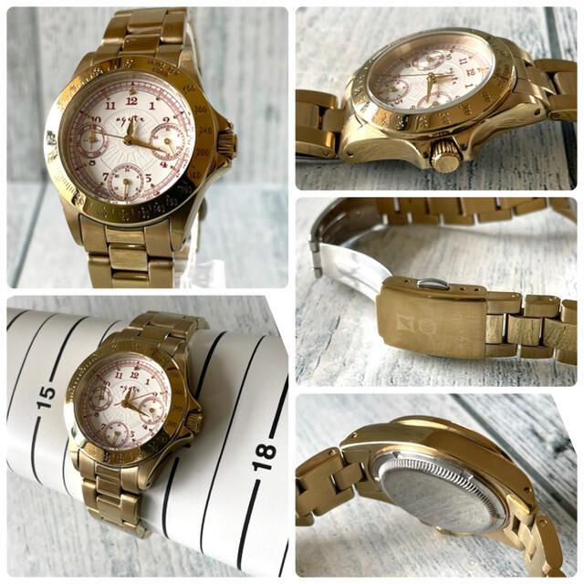 agete(アガット)の【動作OK】agete アガット 腕時計 デイテイト ボーイズ ゴールド レディースのファッション小物(腕時計)の商品写真
