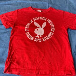 プレイボーイ(PLAYBOY)のプレイボーイ 赤 半袖Tシャツ(Tシャツ(半袖/袖なし))