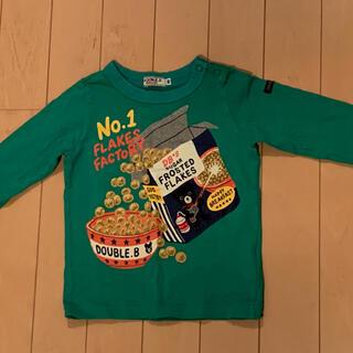 DOUBLE.B - ミキハウス Double B ロングTシャツ 80cm