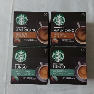 スターバックスコーヒー(Starbucks Coffee)のドルチェグスト スターバックス スタバ パイクプレイス ハウスブレンド(コーヒー)