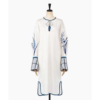 mame - mame kurogouchi 19aw 刺繍ワンピース