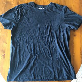 Hurley - 美品!ハーレー Hurley シンプル黒Tシャツ サイズL