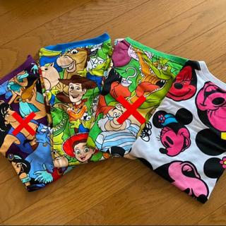 ディズニー(Disney)のディズニー 総柄 Tシャツ(Tシャツ(半袖/袖なし))