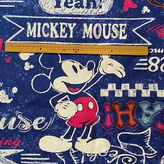ミッキーマウス(ミッキーマウス)の廃番!ミッキーマウス生地110×60(生地/糸)
