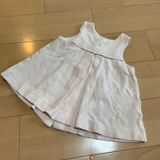 ベビーディオール(baby Dior)のbaby Dior ワンピース サイズ90(ワンピース)