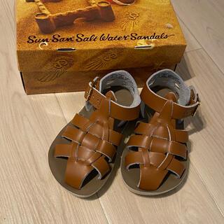 コドモビームス(こどもビームス)の新品Salt Water Sandals ソルトウォーターサンダル6(サンダル)