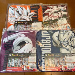 バンダイ(BANDAI)の一番くじ ドラゴンボール VS オムニバスZ J賞 タオル 4種セット(タオル)