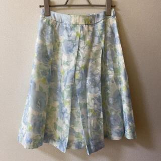 リズリサ(LIZ LISA)のフラワー柄スカート(ひざ丈スカート)
