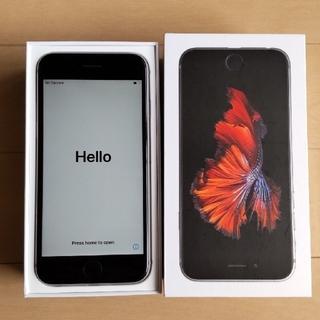 アイフォーン(iPhone)のiPhone6S シルバーSIMフリー(スマートフォン本体)