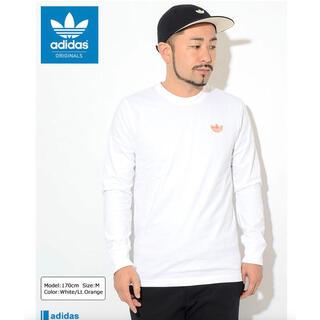 アディダス(adidas)のアディダス Tシャツ 長袖 adidas メンズ ワッペン オリジナルス S(Tシャツ/カットソー(七分/長袖))