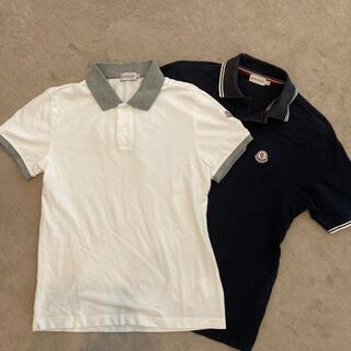 モンクレール(MONCLER)の二枚セット!国内正規品 モンクレール  ポロシャツ S メンズ レディース(ポロシャツ)