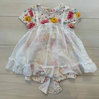 hakka baby - HAKKA baby ハッカベビー ロンパース 花柄 ベビー服 夏服 半袖