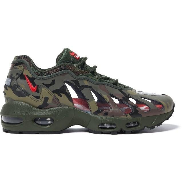 Supreme(シュプリーム)のSupreme/Nike Air Max 96 Camo 27.5cm メンズの靴/シューズ(スニーカー)の商品写真