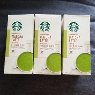 スターバックスコーヒー(Starbucks Coffee)のスターバックス*抹茶ラテ3箱セット(コーヒー)