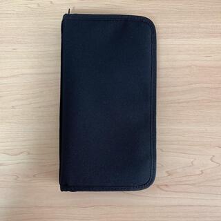 ムジルシリョウヒン(MUJI (無印良品))の無印 パスポートケース黒(旅行用品)