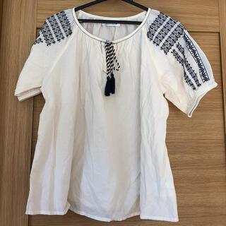 コーエン(coen)のcoen market 刺繍ブラウス(シャツ/ブラウス(半袖/袖なし))