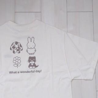 新品 未使用 miffy ミッフィー Tシャツ ビッグTシャツ 半袖 バクプリ