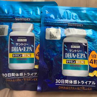 サントリー - サントリー自然のちから DHA&EPA+セサミンEX 2個セット
