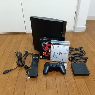 プレイステーション3(PlayStation3)のPlaystation3本体、torne、GT5等付属 中古品(家庭用ゲーム機本体)