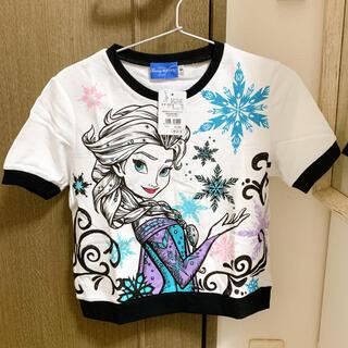 ディズニー(Disney)の【新品】アナ雪 エルサ トレーナー Tシャツ Mサイズ(Tシャツ(半袖/袖なし))