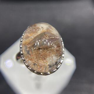 石インクォーツ   リング 天然石(リング)
