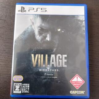 プレイステーション(PlayStation)のバイオハザード ヴィレッジ Z Version PS5(家庭用ゲームソフト)