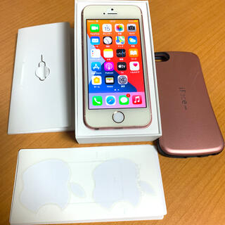 Apple - iPhone SE Rose Gold 64 GB SIMフリー 一部不具合有り