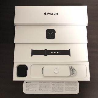 Apple Watch - Apple Watch SE 44mm スペースグレー GPSモデル