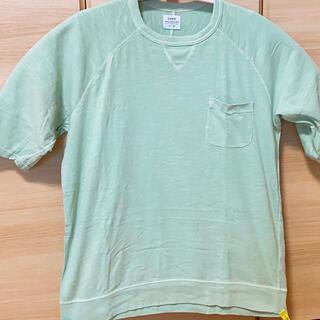 コーエン(coen)のcoen エメラルドグリーン Tシャツ Lサイズ メンズ 汚れなし ほぼ未使用(Tシャツ/カットソー(半袖/袖なし))