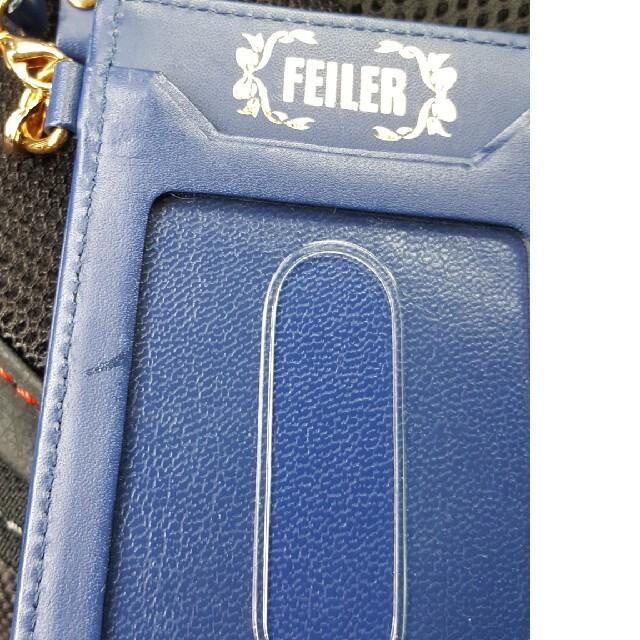 FEILER(フェイラー)のフェイラー FEILER  IDケース 社員証ケース  定期入れ レディースのファッション小物(パスケース/IDカードホルダー)の商品写真