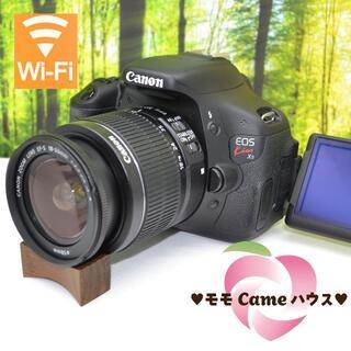 Canon - キヤノン Kiss X5☆液晶画面が動く一眼レフ♪スマホ転送OK☆1641