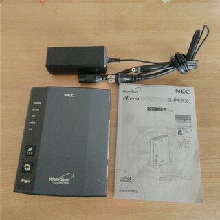 エヌイーシー(NEC)のNEC WIFIルーター WR8700N HPモデル(PC周辺機器)